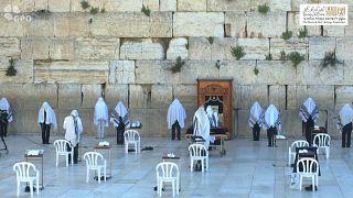 «Έρημο» το Τείχος των Δακρύων