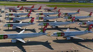 Flugverbot in Lissabon über Ostern