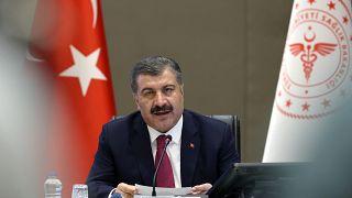 Sağlık Bakanı Fahrettin Koca Koronavirüs Bilim Kurulu toplantısı sonrası