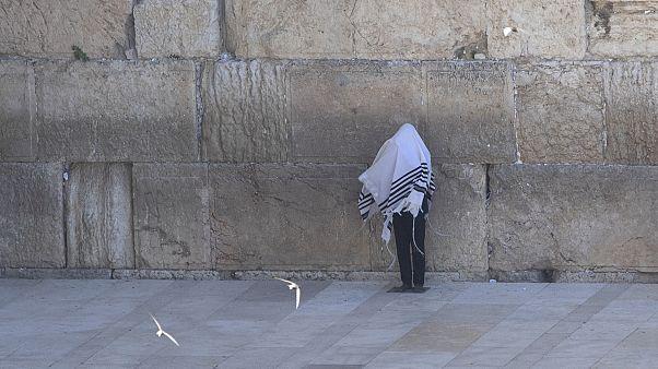 Virus Outbreak Israel Cohanim Blessing