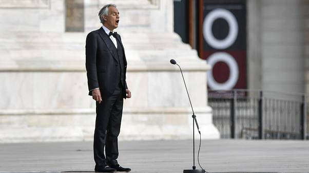 Virus Outbreak Italy Bocelli
