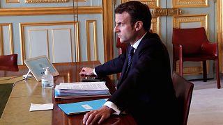 El presidente francés, Emmanuel Macron, prorroga el confinamiento hasta el 11 de mayo