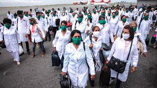 Cuban doctors arrive in Angola to help battle coronavirus