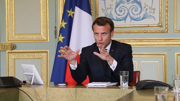 """ماكرون يعترف: فرنسا """"لم تكن على استعداد كاف"""" لمواجهة فيروس كورونا"""