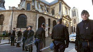 Saint-Nicolas-du-Chardonnet Katolik Kilisesi/Arşiv Foto