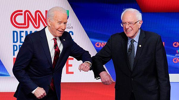 Joe Biden ve Bernie Sanders