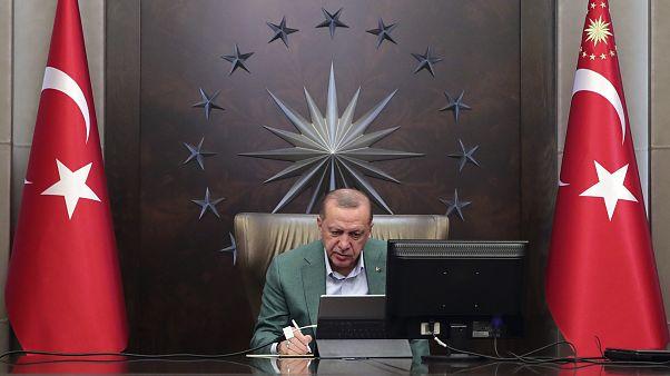 إردوغان يلجأ إلى دبلوماسية الأقنعة ويحاول تلميع صورة بلاده