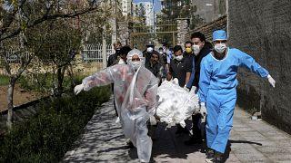 Virus Outbreak Iran US Tensions