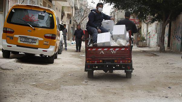 Virus Outbreak Mideast Gaza