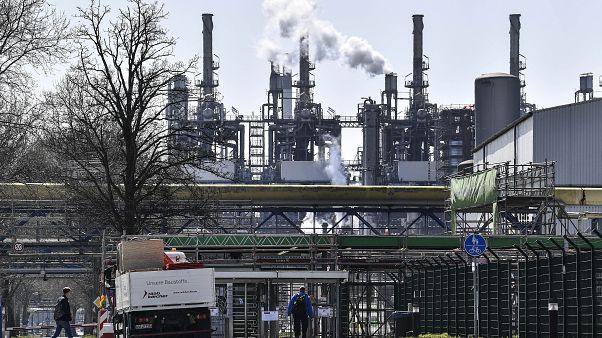Завод в Германии.