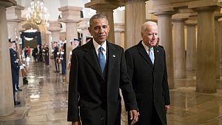 Yes you can! Barack Obama sostiene il suo ex braccio destro, Joe Biden
