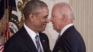 Ex-US-Präsident Barack Obama unterstützt den Kandidaten Joe Biden