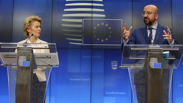 """EU-""""Coronexit""""-Strategie: Bei der Sperre kleckern, beim Geld klotzen"""
