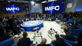 الإجتماع السنوي لأعضاء اللجنة النقدية والمالية الدولية / صندوق النقد الدولي في واشنطن 2019