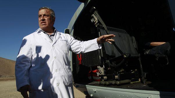 Şili Sağlık Bakanı Jaime Manalich, 7 Ekim 2010