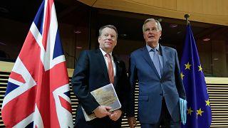 David Frost ve Michel Barnier