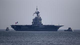 Corona-Fälle auf französischem Flugzeugträger