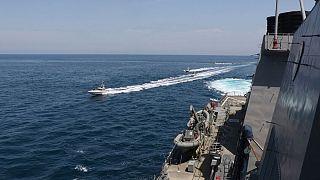 آمریکا ایران را به «آزار خطرناک» کشتیهایش در خلیج فارس متهم کرد