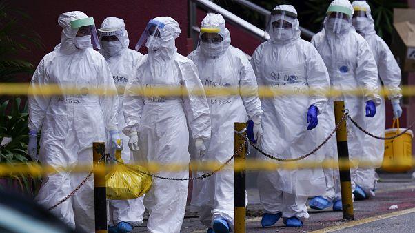 Virus Outbreak-Southeast Asia