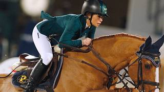 Taking the reins: Saudi Dalma Malhas pines for her horses in Europe as she self-isolates