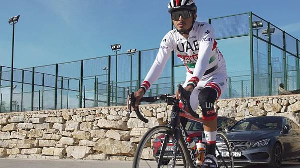 UAE cyclist Yousif Mirza shifts from track to 'online cycling' during pandemic