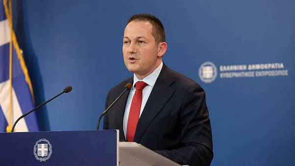 Ο Έλληνας Κυβερνητικός Εκπρόσωπος Στέλιος Πέτσας