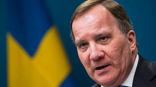 Swedish Prime Minister Stefan Löfven gives a presser about the COVID-19 outbreak in Sweden, March 31, Stockholm