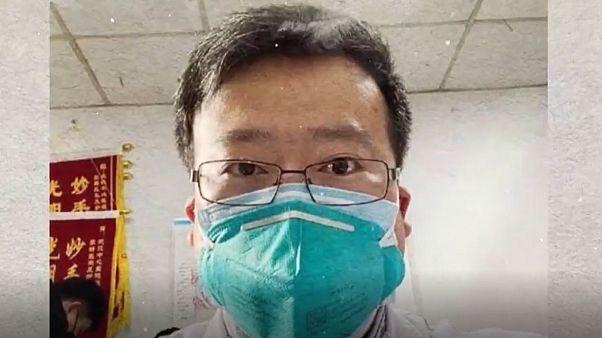 تصاویر پزشک افشاگر ویروس کرونا در تلویزیون ووهان