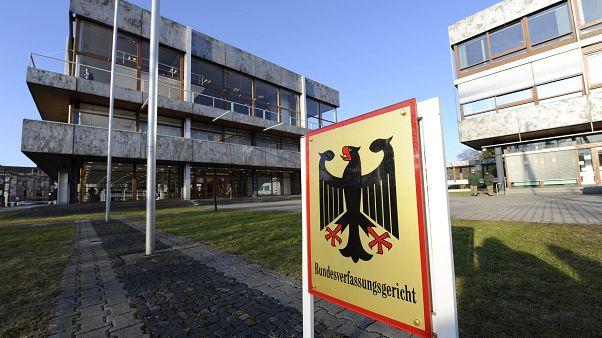 Blick auf das Bundesverfassungsgericht in Karlsruhe