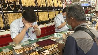Rush to sell gold as prices hit seven-year high amid coronavirus pandemic