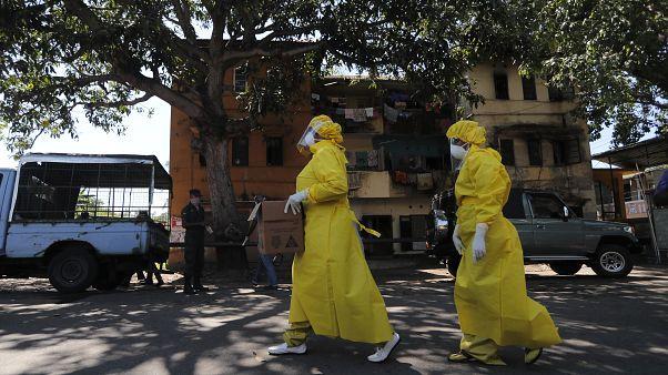 Virus Outbreak Sri Lanka