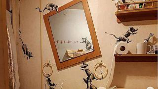 Banksy'nin yeni çalışması