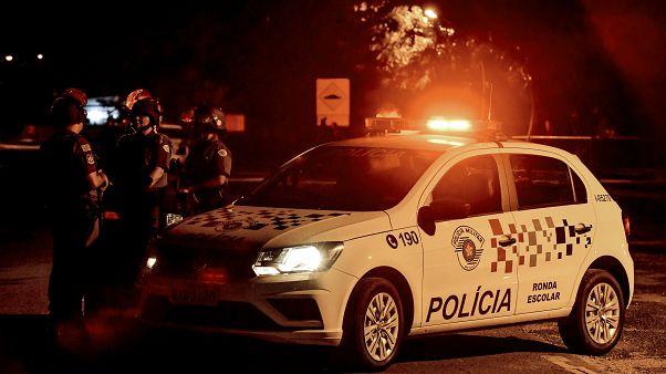 Polícia brasileira em ação