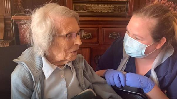 Meet the 106-year-old who is the UK's oldest known COVID-19 survivor