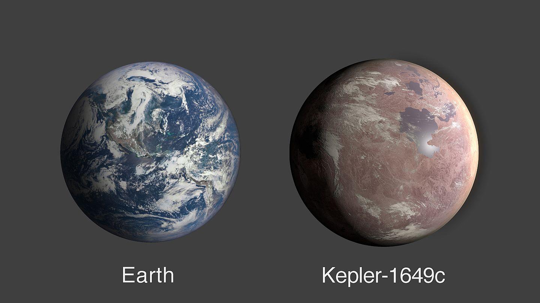 NASA, Dünya benzeri yaşam için uygun yeni bir gezegen keşfetti: Kepler-1649c | Euronews