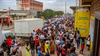 Cidadãos em Luanda