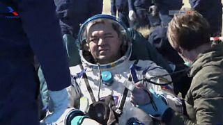Raumfahrt in die Pandemie: ISS-Rückkehrer von Spezialteams empfangen