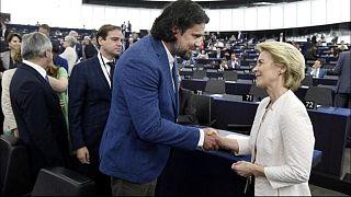 Deutsch Tamás gratulált Ursula von der Leyennek kinevezésekor, 2019 júliusa