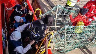 Salvamento de migrantes no Mediterrâneo