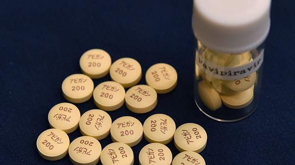 أقراص دواء أفيغان المضادة للأنفلونزا