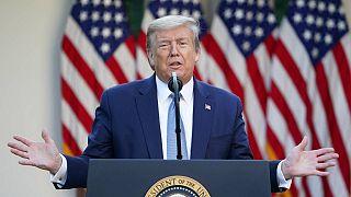 Trump'tan Pekin'e koronavirüs ithamı: Çin'deki ölü sayısı saklanıyor, ABD'nin yanına bile yaklaşamaz