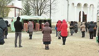 Православные встречают Пасху дома