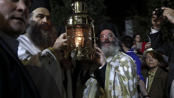 Φωτό Αρχείου Greece Holy Flame