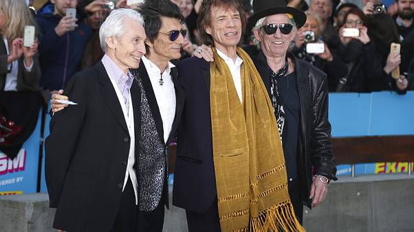 Charlie Watts,Ronnie Wood,Mick Jagger,Keith Richards