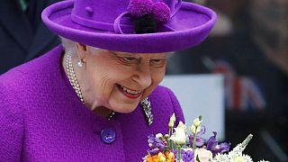II. Erzsébet brit uralkodó 2020 februárjában