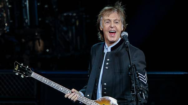 July 26, 2017 - Sir Paul McCartney performs in concert during his One on One tour at Hollywood Casino Amphitheater in Tinley Park, Illinois
