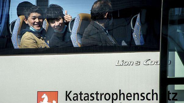 آلمان ۴۷ کودک پناهجوی بدون سرپرست را از اردوگاههای یونان پذیرفت
