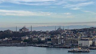 Celine Avcı tarafından çekilen İstanbul'dan Uludağ manzarası