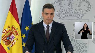 Санчес продлил режим изоляции до 9 мая