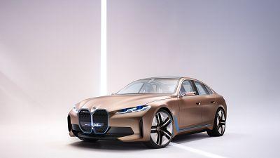 BMW i4 electric car